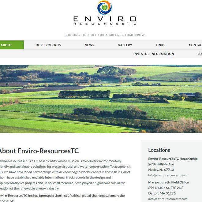 Enviro-Resources Website