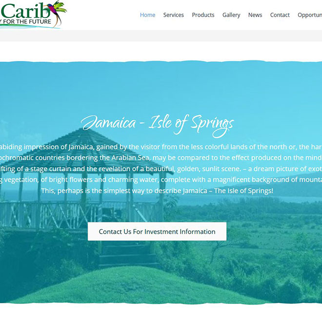 Gulf Carib Website