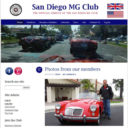 San Diego MG Club Website